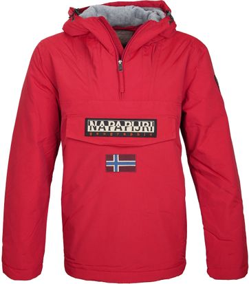 Napapijri Anorak Rainforest Sparkling Red