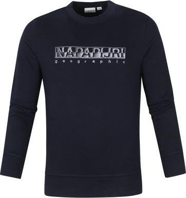 Napapijri Ballar Sweater Donkerblauw