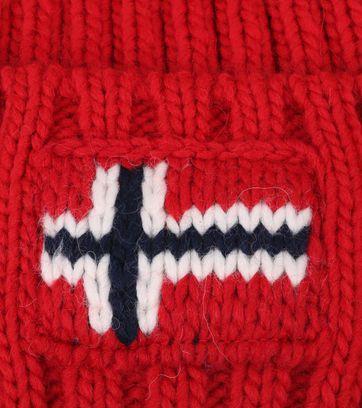 Detail Napapijri Beanie Rot