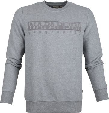 Napapijri Berber Sweater Grau