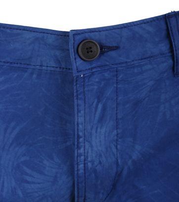 Detail Napapijri Bermuda Blauw Print