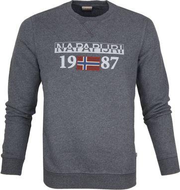 Napapijri Berthow Sweater Dark Grey