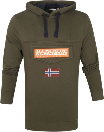 Napapijri Burgee Sweater Dark Green