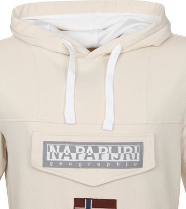 Napapijri Burgee Sweater Off-White