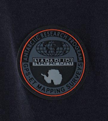 Detail Napapijri Cardigan Bitan Donkerblauw
