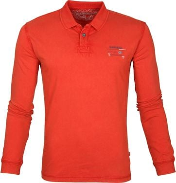 Napapijri Egegik LS Polo Orange