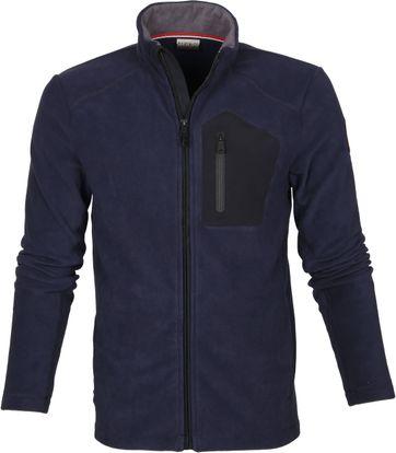 Napapijri Fleece Jacket Tambo Navy