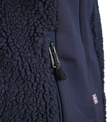 Detail Napapijri Fleece Vest Navy