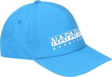 Napapijri Framing Cap Aqua Blue