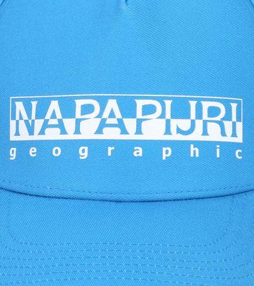 Napapijri Framing Kappe Aqua Blau