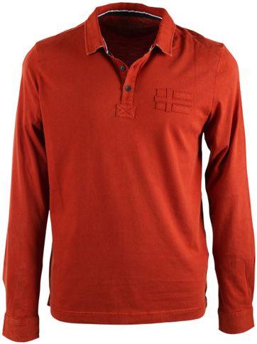 Napapijri Lange Ärmel Poloshirt Esia Orange