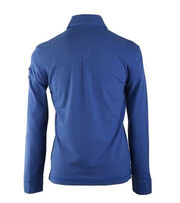Detail Napapijri Longsleeve Poloshirt Elbas Blauw