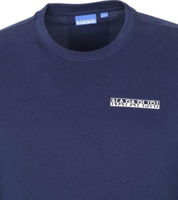 Napapijri Longsleeve T-Shirt Dark Blue Surf