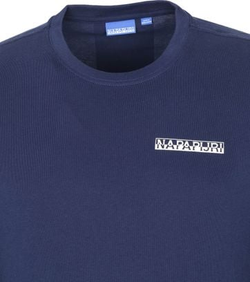Napapijri Longsleeve T-Shirt Dunkelblau Surf