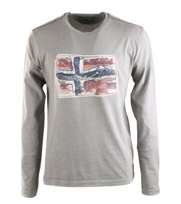 Napapijri Longsleeve T-shirt Grijs
