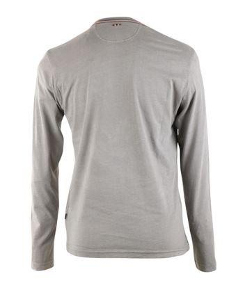 Detail Napapijri Longsleeve T-shirt Grijs