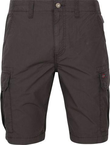 Napapijri Noto Cargo Shorts Anthracite
