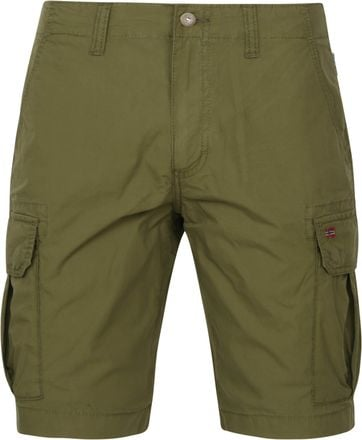 Napapijri Noto Cargo Shorts Dark Green