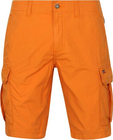 Napapijri Noto Cargo Shorts Orange