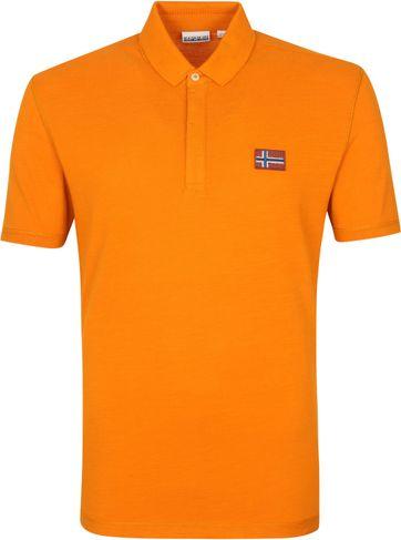 Napapijri Polo Ebea Orange