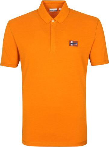 Napapijri Polo Ebea Oranje