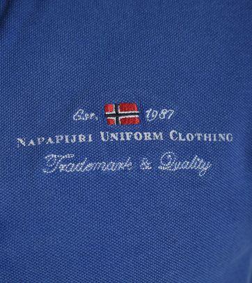 Detail Napapijri Polo Elbas Palatine Blue