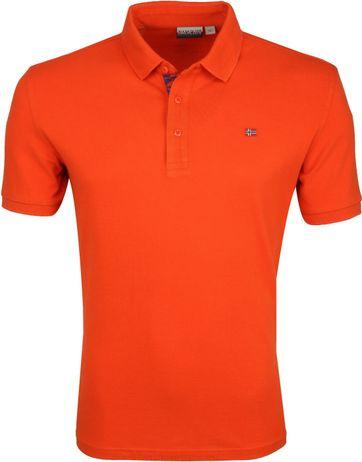 Napapijri Polo Eolanos Oranje