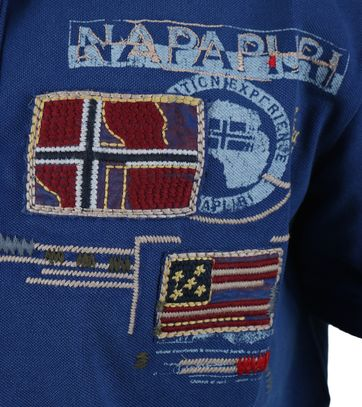 Detail Napapijri Polo Eschol Blauw