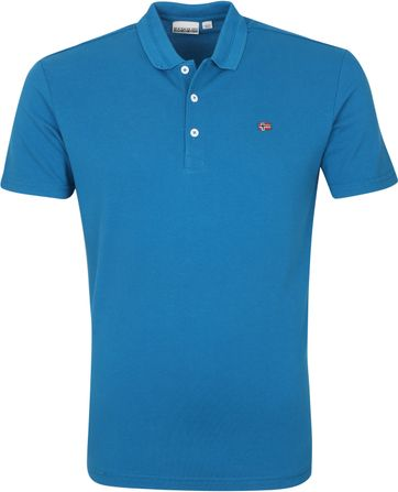 Napapijri Polo Shirt Ealis Blue