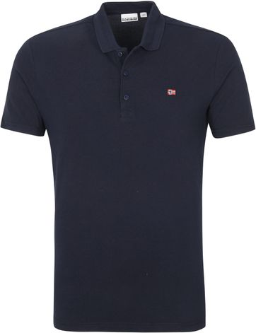 Napapijri Polo Shirt Ealis Dark Blue