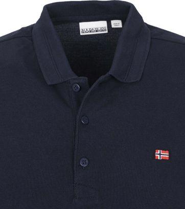 Napapijri Polo Shirt Ealis Dark Blue