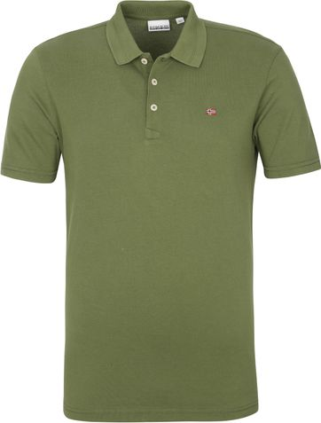 Napapijri Polo Shirt Ealis Dark Green
