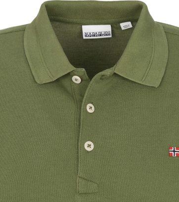 Napapijri Polo Shirt Ealis Dark Green