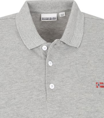 Napapijri Polo Shirt Ealis Grey