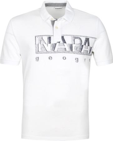 Napapijri Polo Shirt Eallar White