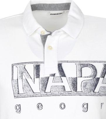 Napapijri Polo Shirt Eallar White