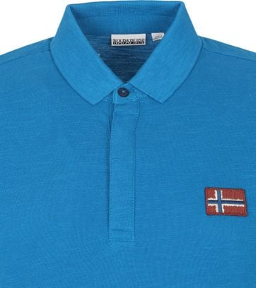 Napapijri Polo Shirt Ebea Blue