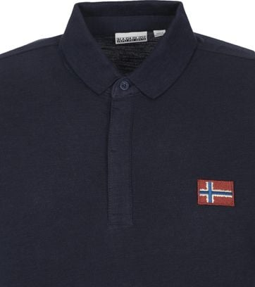 Napapijri Polo Shirt Ebea Dark Blue