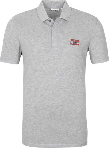 Napapijri Polo Shirt Ebea Grey