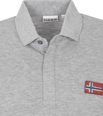 Napapijri Polo Shirt Ebea Grey