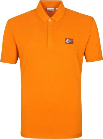Napapijri Polo Shirt Ebea Orange
