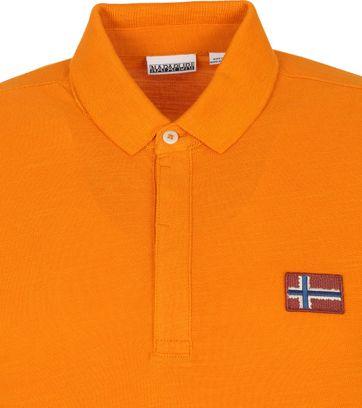 Napapijri Polo Shirt Ebea Orange