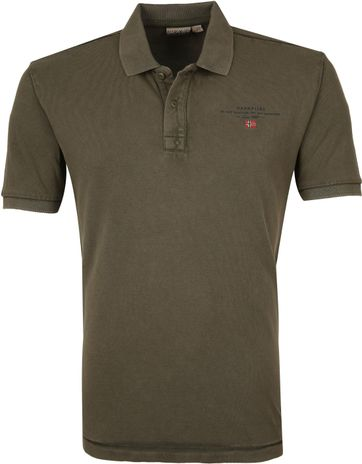 Napapijri Polo Shirt Elbas 3 Dark Green