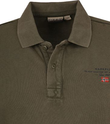 Napapijri Polo Shirt Elbas 3 Dark Green