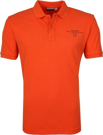 Napapijri Polo Shirt Elbas 3 Orange