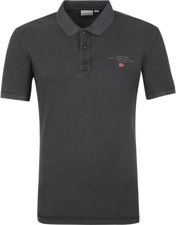 Napapijri Polo Shirt Elbas 4 Anthracite
