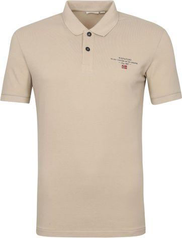 Napapijri Polo Shirt Elbas 4 Beige