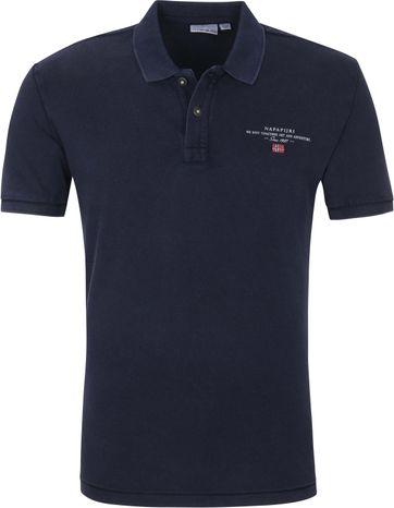 Napapijri Polo Shirt Elbas 4 Navy