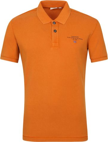 Napapijri Polo Shirt Elbas 4 Orange
