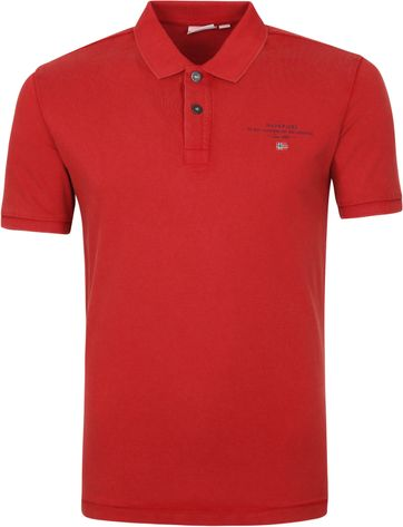 Napapijri Polo Shirt Elbas 4 Red